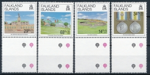 Falkland Islands Mi.561-564 czyste**